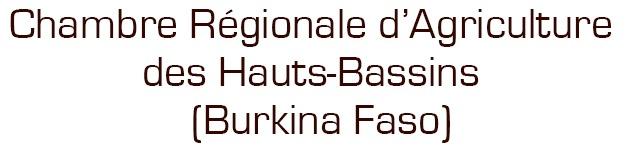 Chambre Régionale d'Agriculture des Hauts-Bassins – (Burkina Faso)